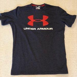 Under Armour Navy Blue Shirt.